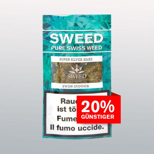 Sweed Super Silver Haze CBD