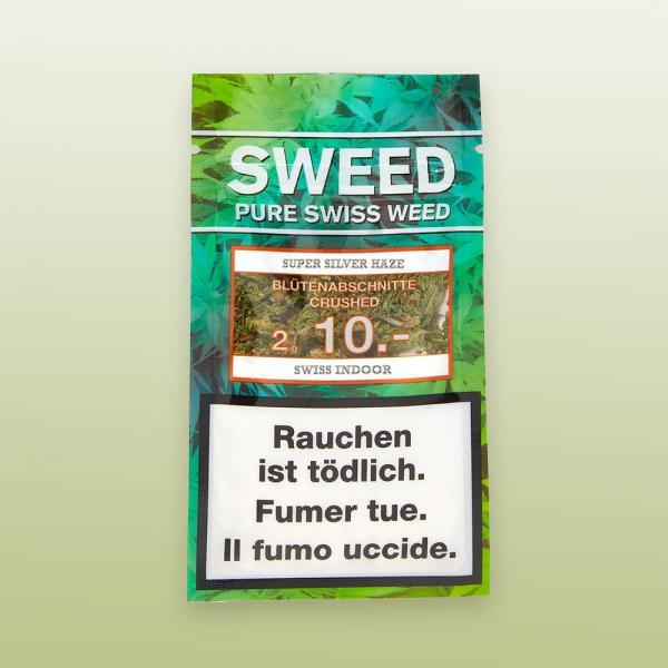 Sweed Super Silver Haze CBD Crushed